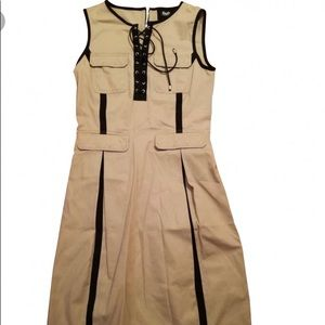 D&G tan khaki dress L